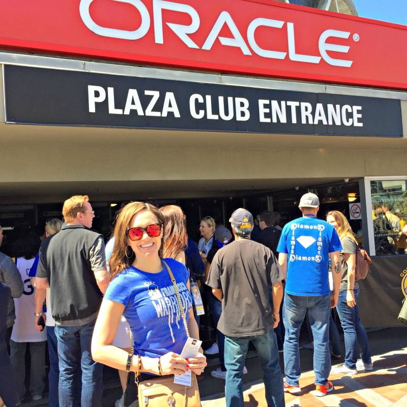 Mom visit - outside Oracle