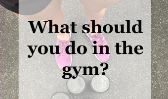 What should you do in the gym?