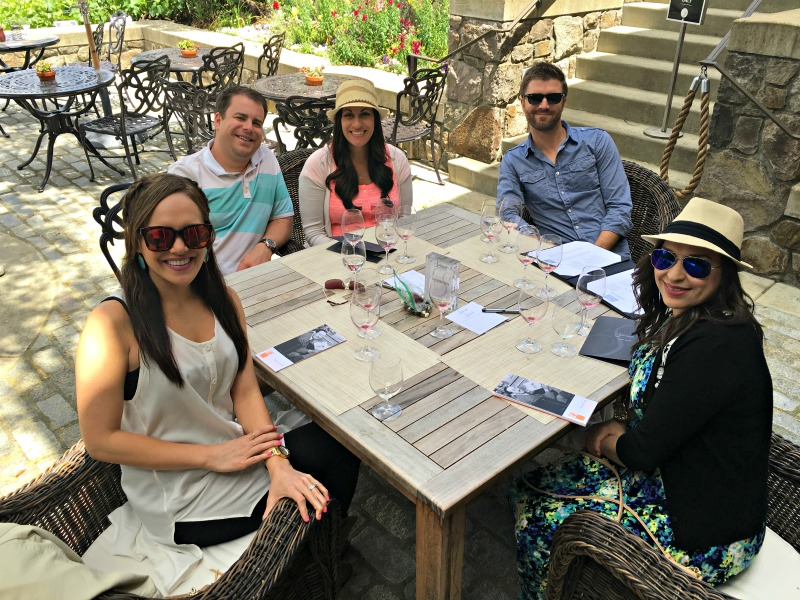 Friends at Silverado Winery by A Lady Goes West