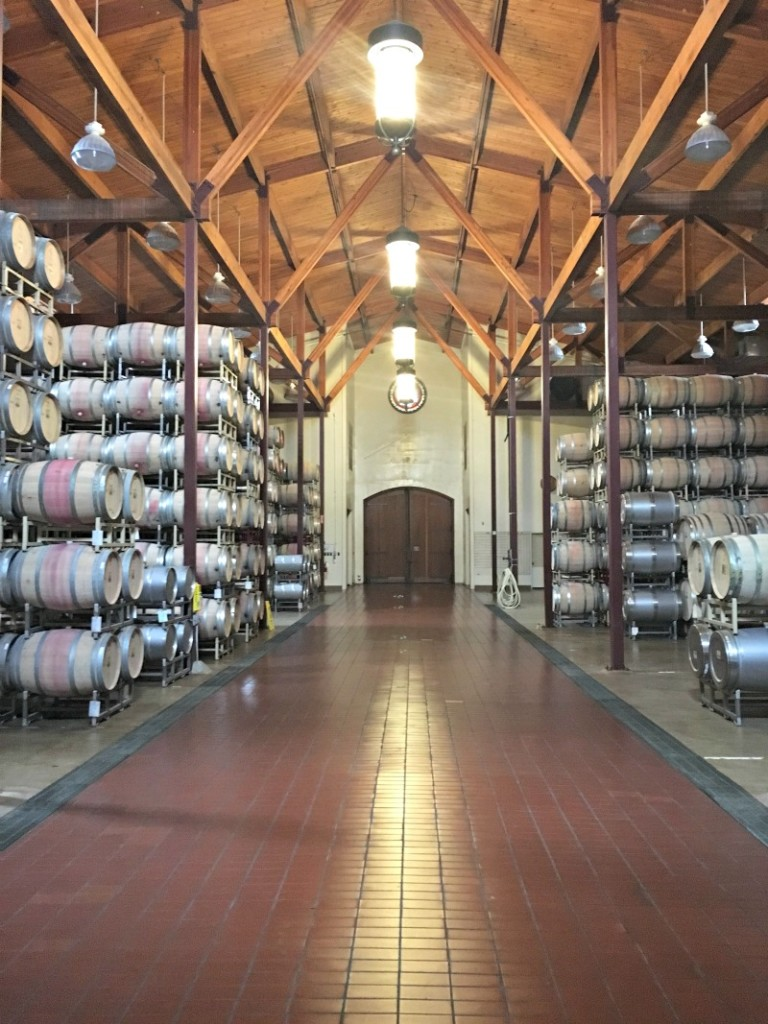 Inside at Silverado Winery by A Lady Goes West