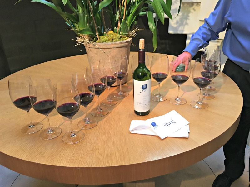 Wine at Opus One by A Lady Goes West