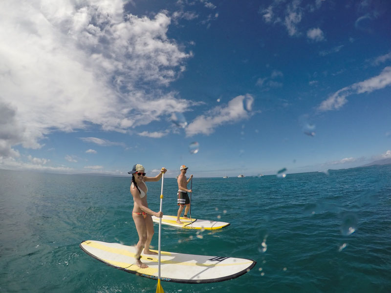 Hawaiian Paddle Sports SUP on Ashley's Maui Travel Guide