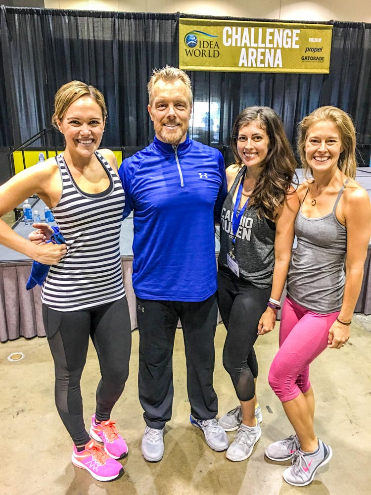 Workout with Gunnar Peterson at BlogFest