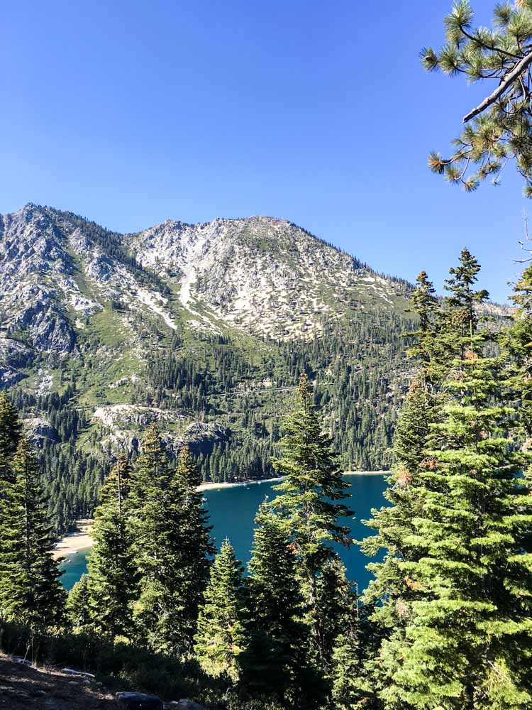 Emerald Bay views in Lake Tahoe