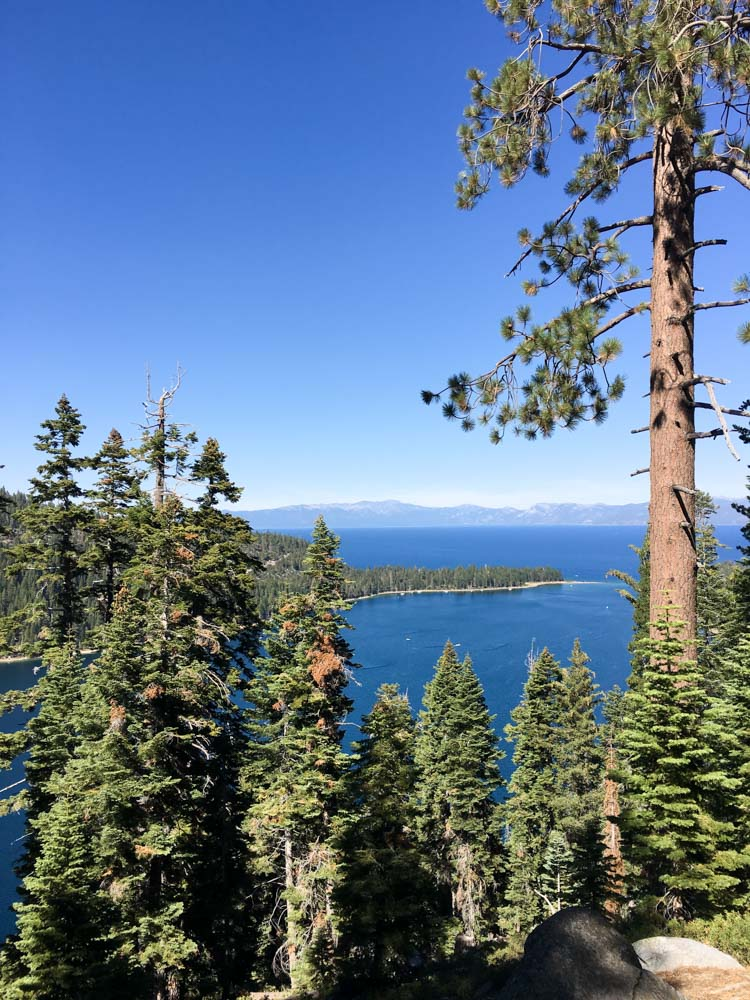 Emerald Bay in Lake Tahoe by A Lady Goes West