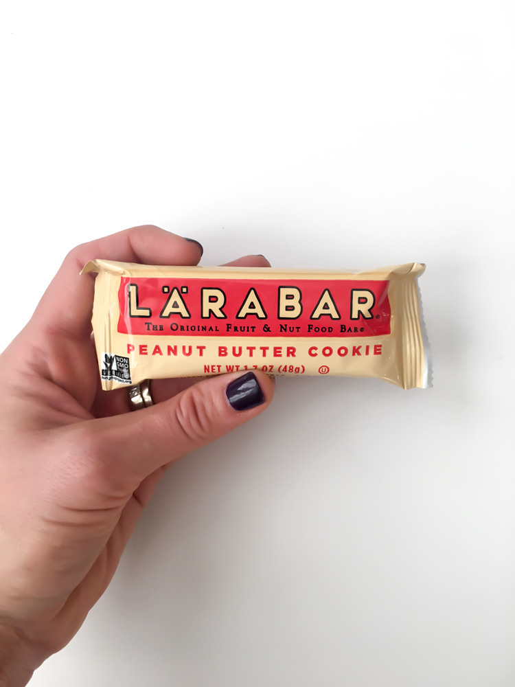 Larabar for What I Ate Wednesday by A Lady Goes West