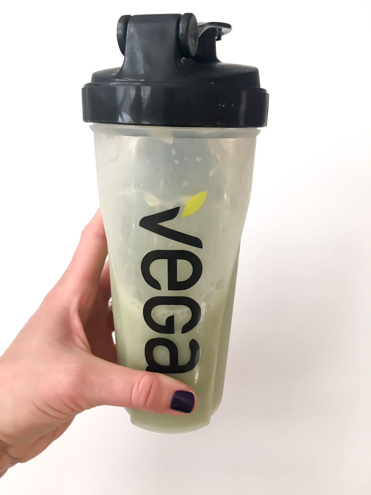 Vega shake for What I Ate Wednesday by A Lady Goes West
