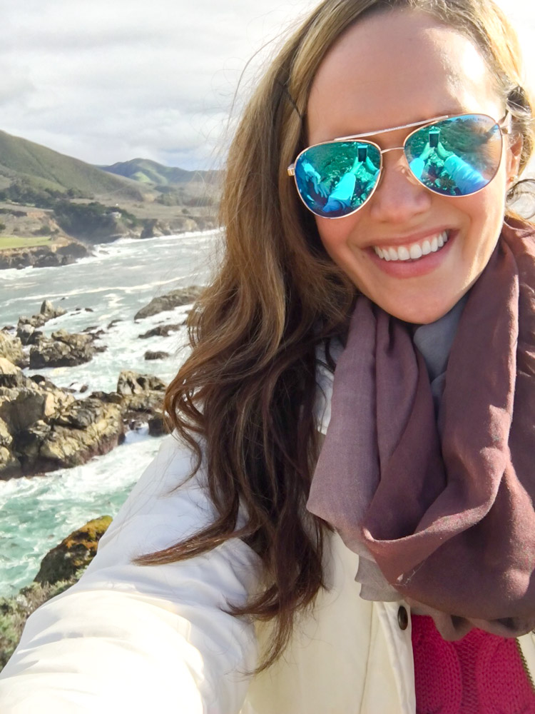 Ashley in Big Sur by A Lady Goes West
