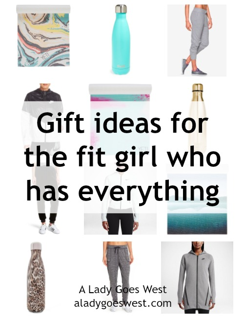 Gift ideas for the fit girl who has everything by A Lady Goes West
