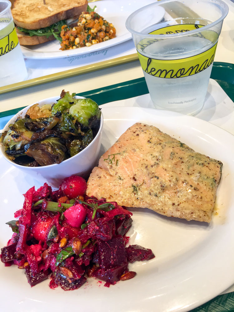 Lunch at Lemonade by A Lady Goes West
