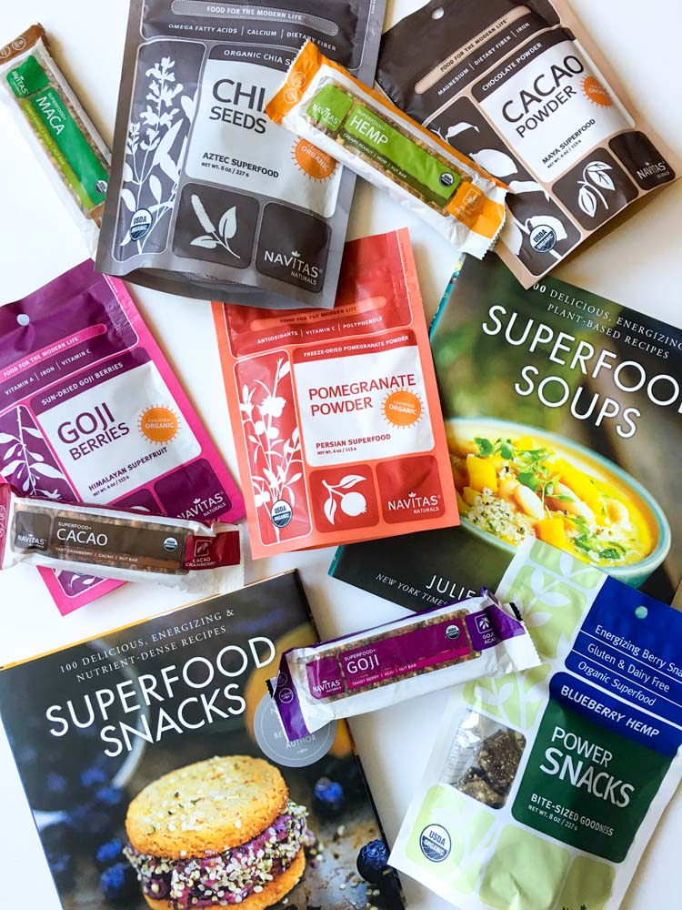 Navitas Naturals superfoods products by A Lady Goes West