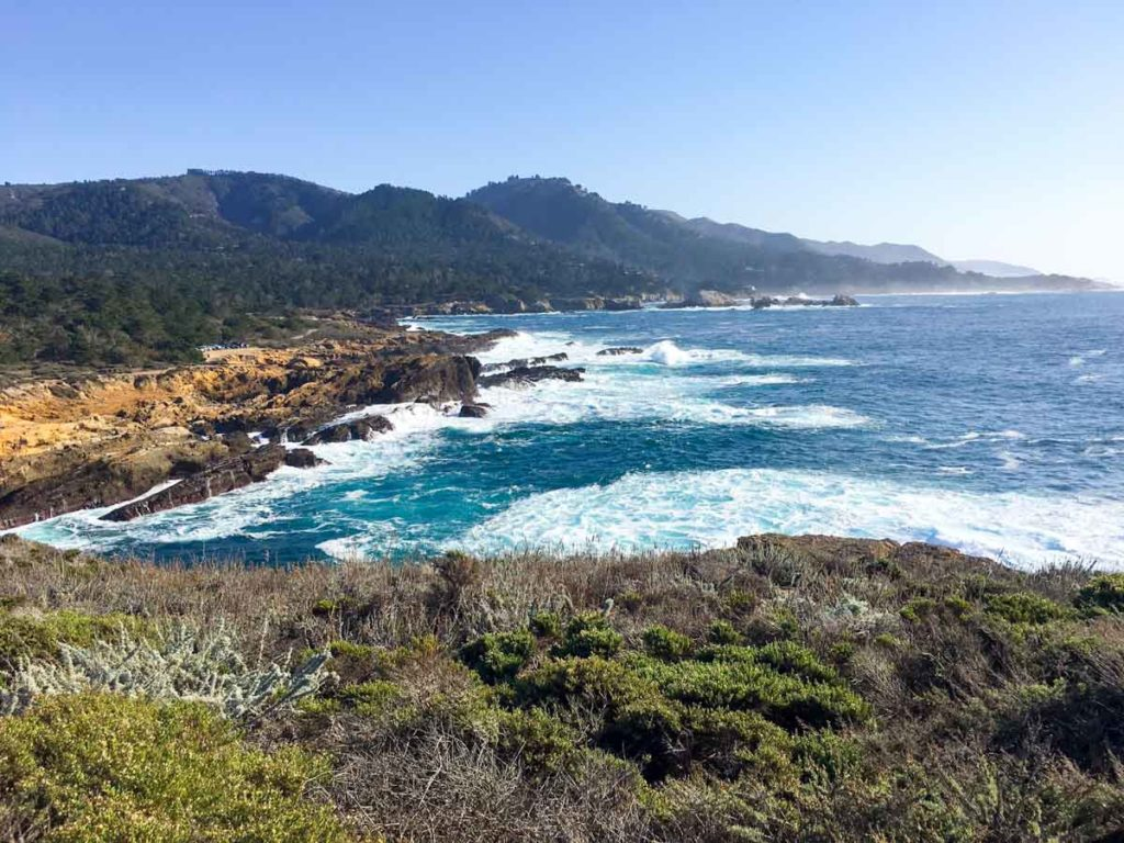Point Lobos State Reserve in Carmel by A Lady Goes West