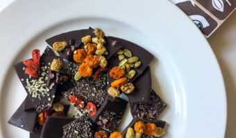 Two mouth-watering cacao superfood truffle and bark recipes