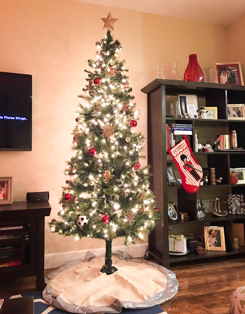 Our Christmas Tree by A Lady Goes West