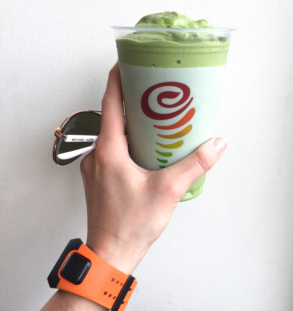 Green Jamba Juice by A Lady Goes West