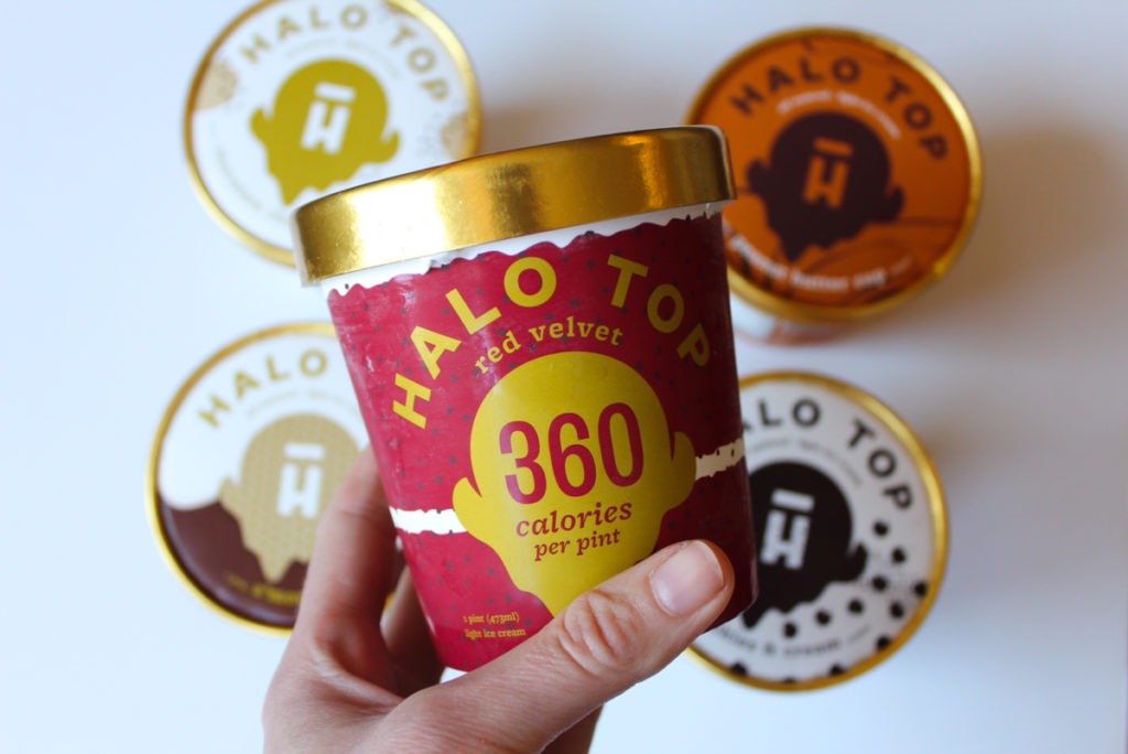 Halo Top ice cream by A Lady Goes West