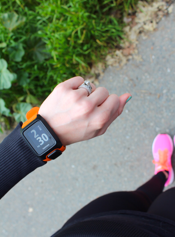 Wearing my TomTom Adventurer Outdoor watch by A Lady Goes West