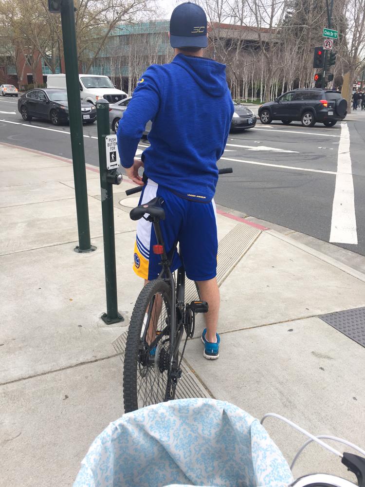 Biking in Walnut Creek by A Lady Goes West