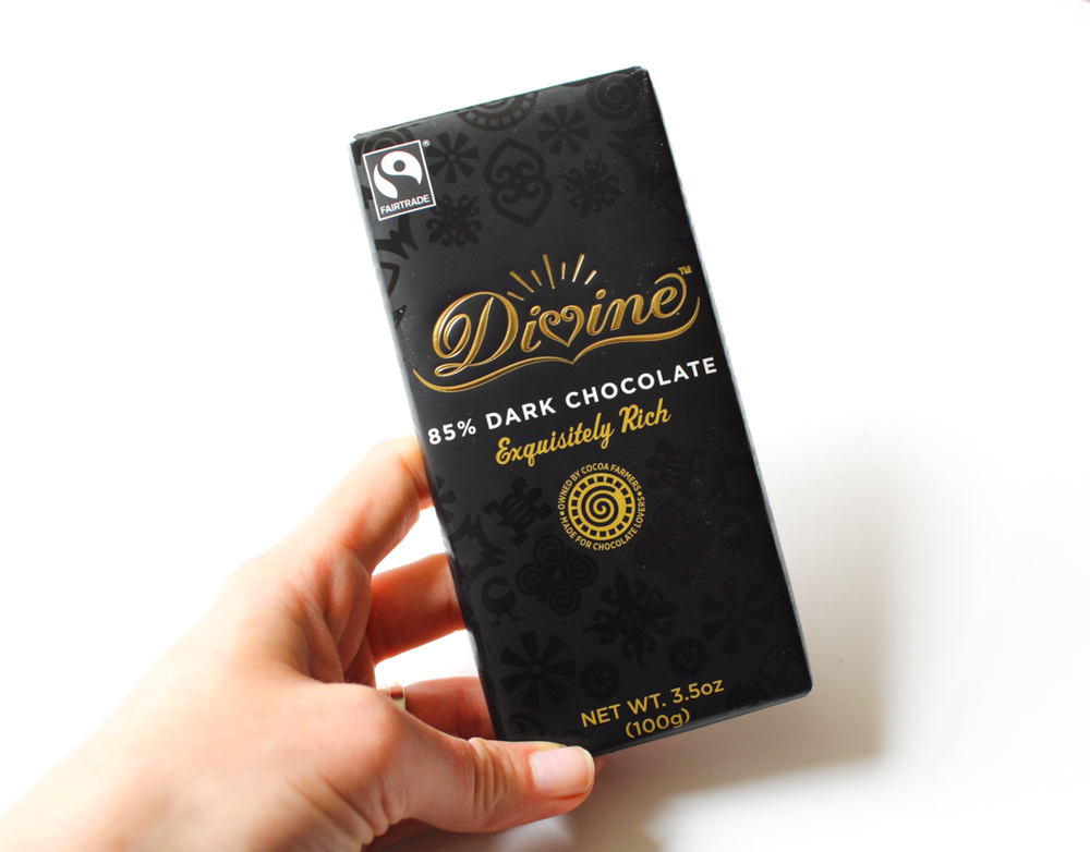 Divine dark chocolate by A Lady Goes West