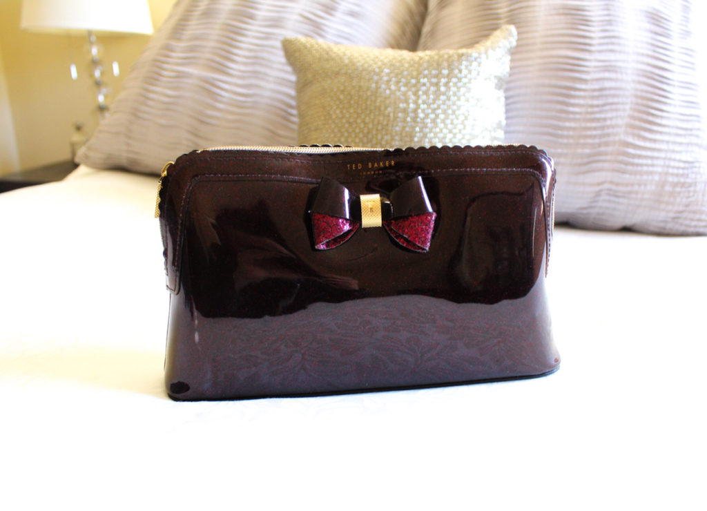 Favorite make-up bag by A Lady Goes West