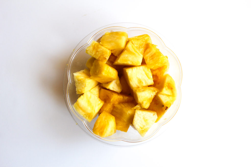 Fresh pineapple by A Lady Goes West
