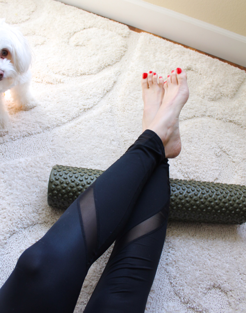 RumbleRoller Gator foam roller giveaway by A Lady Goes West