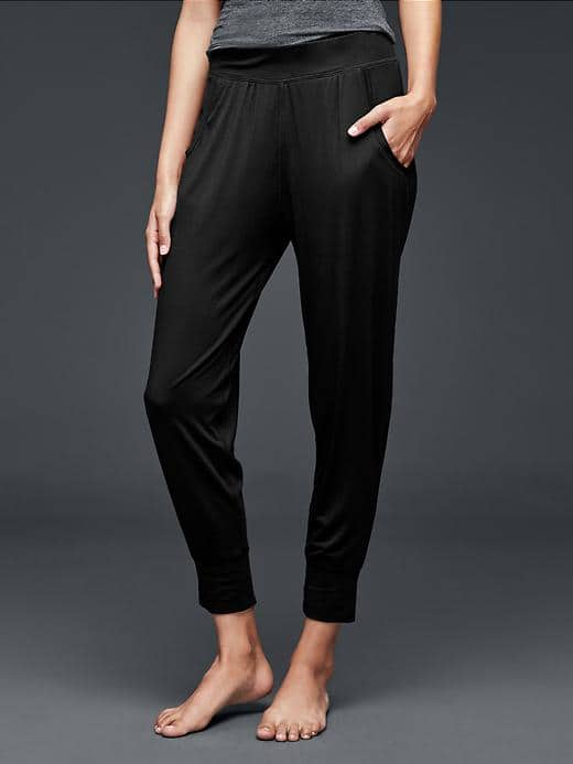 Gap modal jogger pants favorites by A Lady Goes West