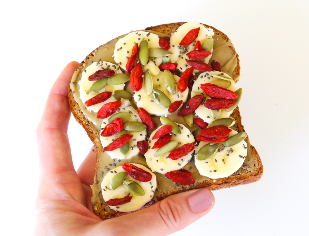 Superfood toast by A Lady Goes West
