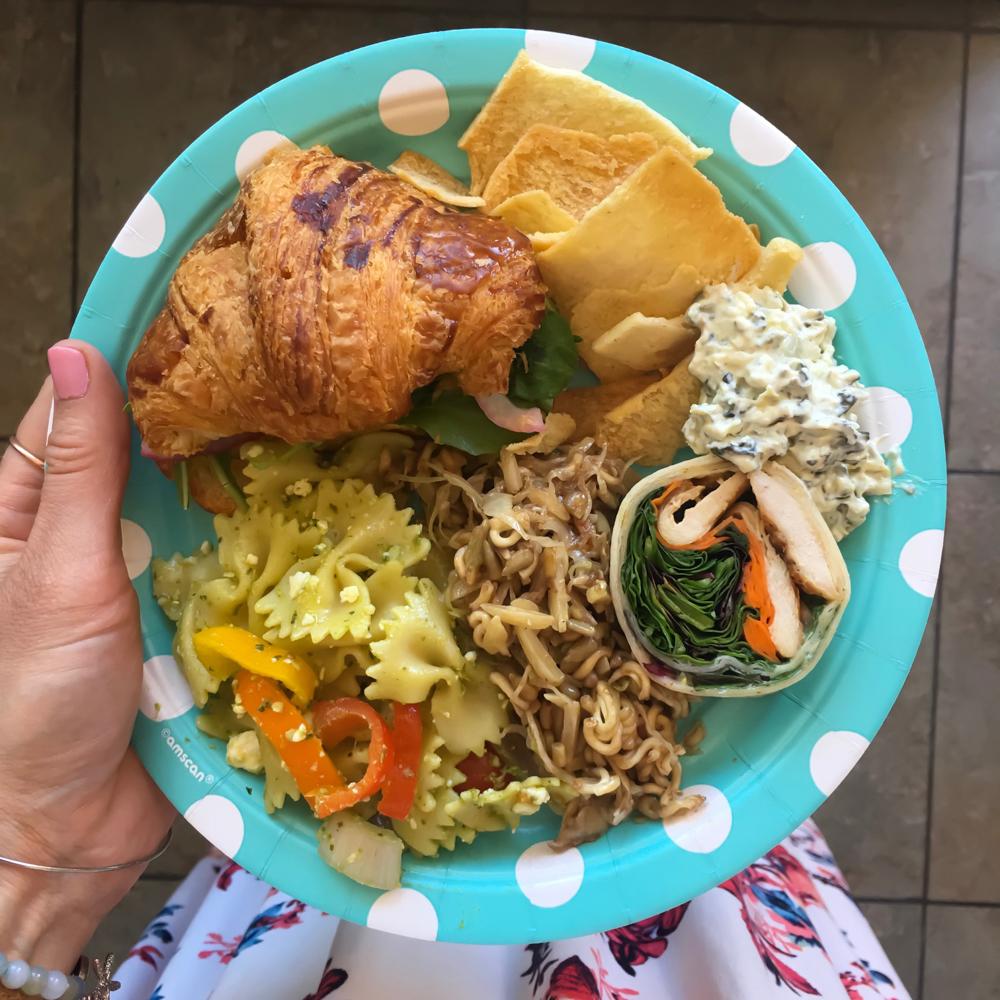 Birthday party lunch in Santa Cruz by A Lady Goes West