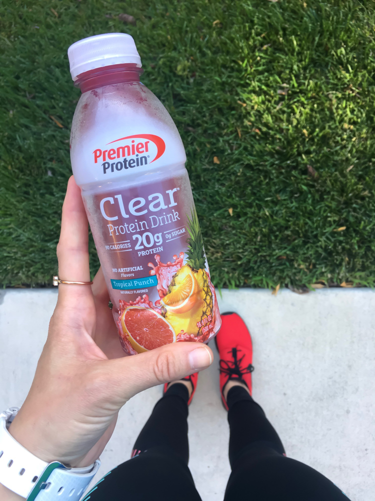 Premier Protein clear protein by A Lady Goes West