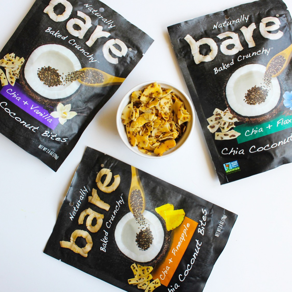 Tasty Bare Snack coconut and chia bites by A Lady Goes West