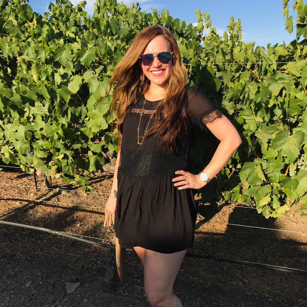 Ashley in Livermore Valley Wine Country by A Lady Goes West