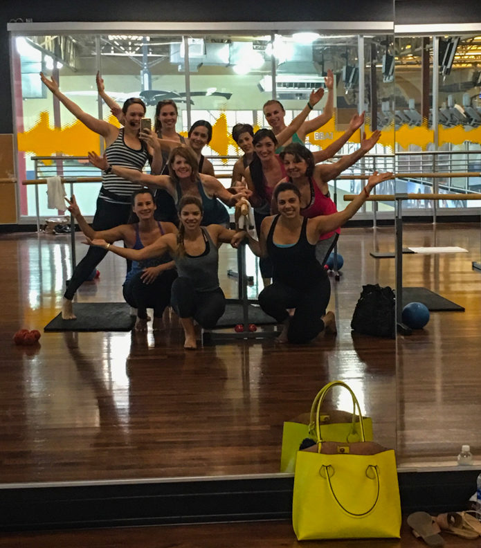 Bootybarre class on Friday by A Lady Goes West