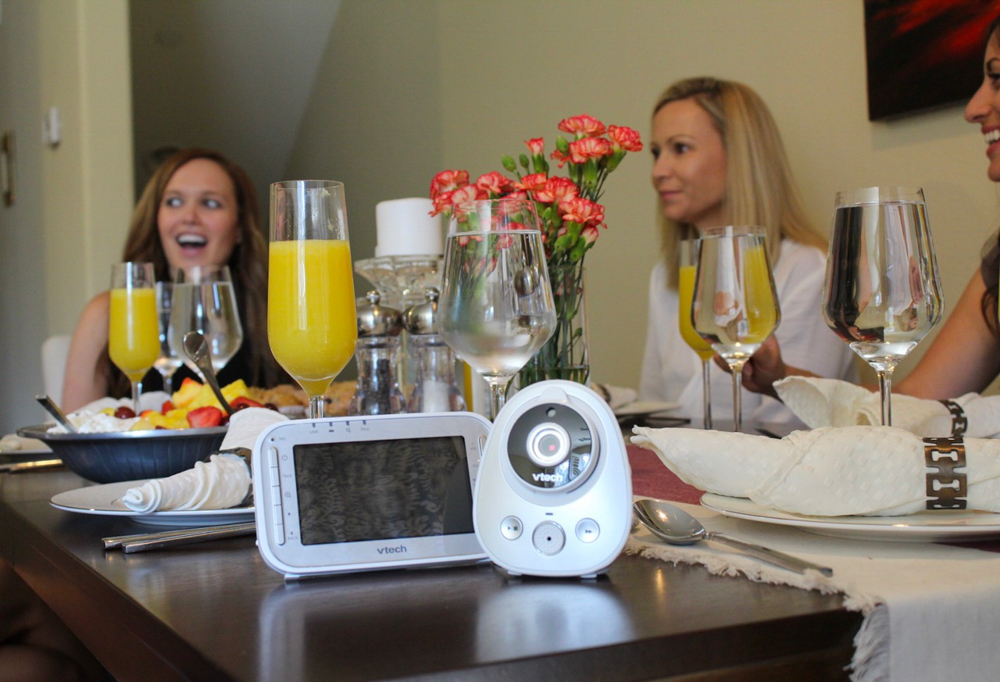 Ladies brunch - What to expect when you're expecting - VTech Baby Monitor by A Lady Goes West
