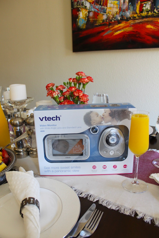 What to expect when you're expecting - VTech Baby Monitor by A Lady Goes West