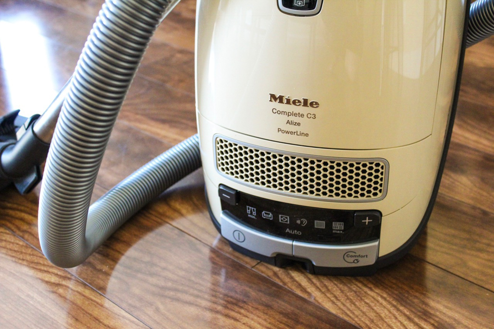 Miele canister vacuum by A Lady Goes West