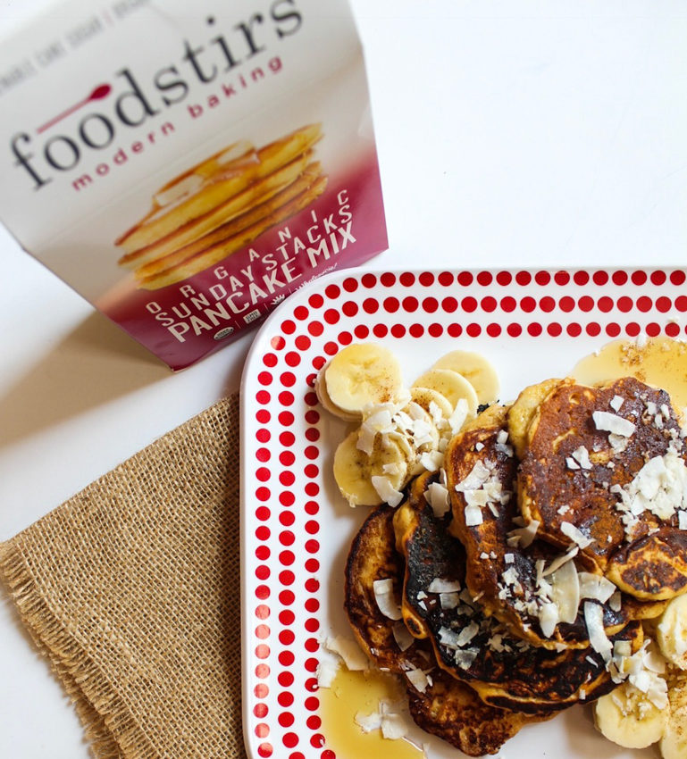 Foodstirs Pancake Mix by A Lady Goes West