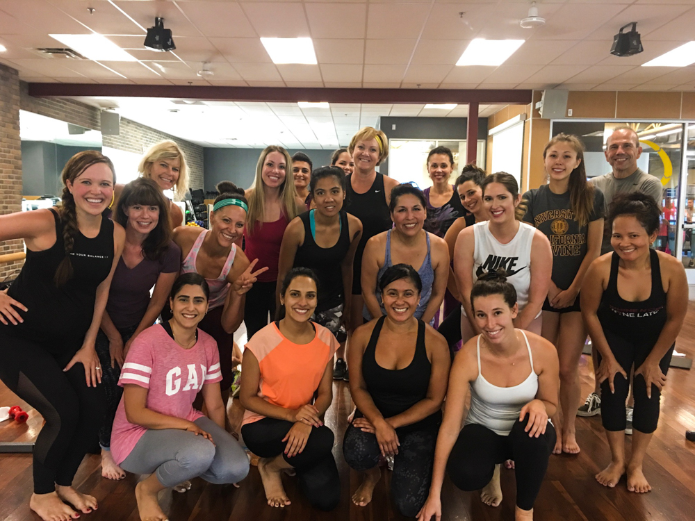 Last Bootybarre class by A Lady Goes West