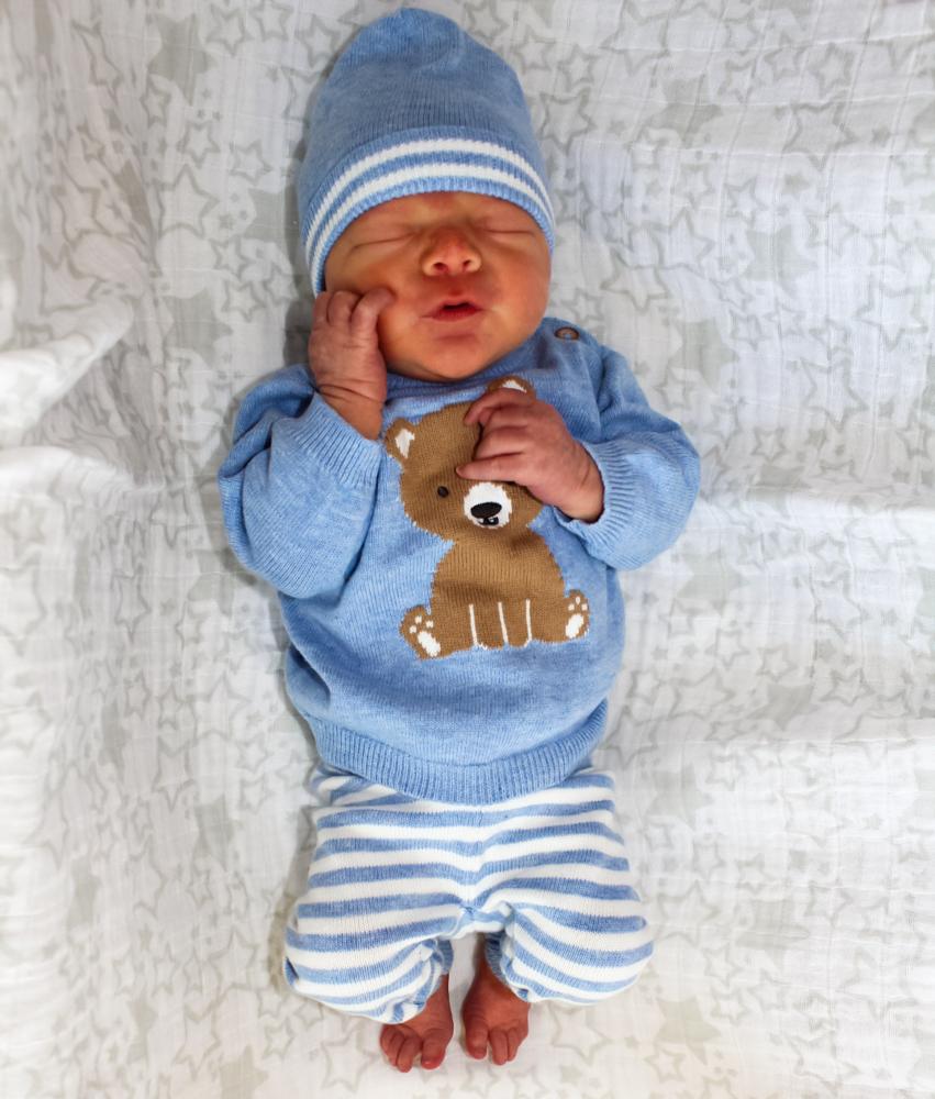 Baby Brady Oliver Pitt by A Lady Goes West