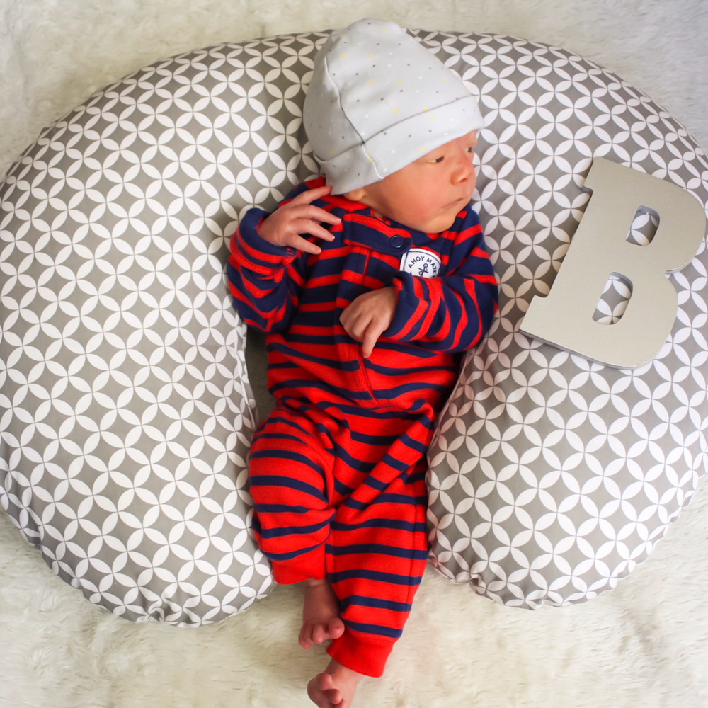 Baby Brady at 7 days by A Lady Goes West