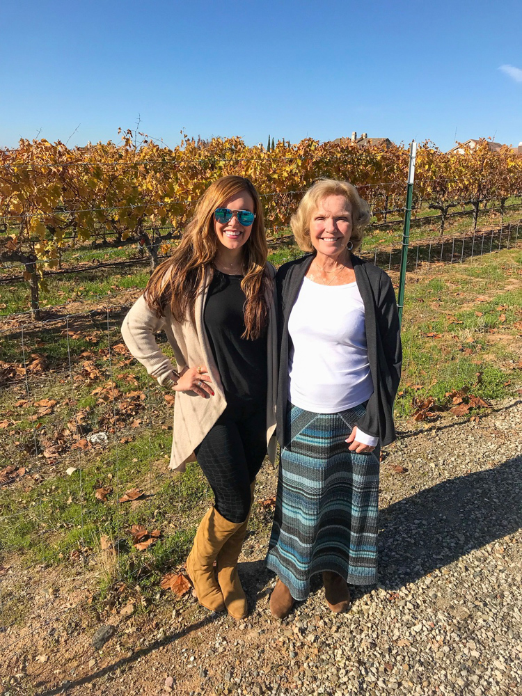 Ashley and Mom in Livermore Valley by A Lady Goes West