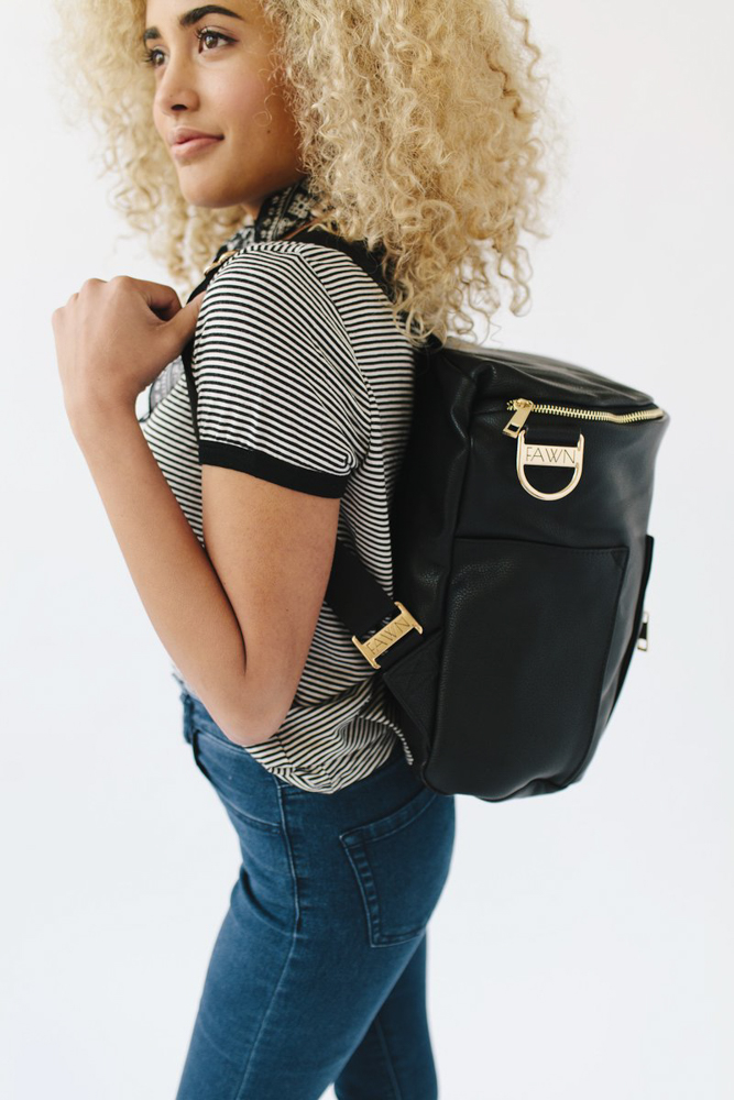 Fawn bag backpack by A Lady Goes West