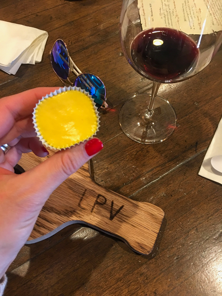 Wine and Cheesecake at Las Positas in Livermore Valley by A Lady Goes West
