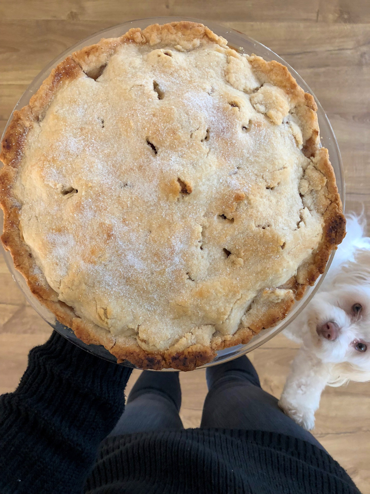 Apple pie in the new house by A Lady Goes West