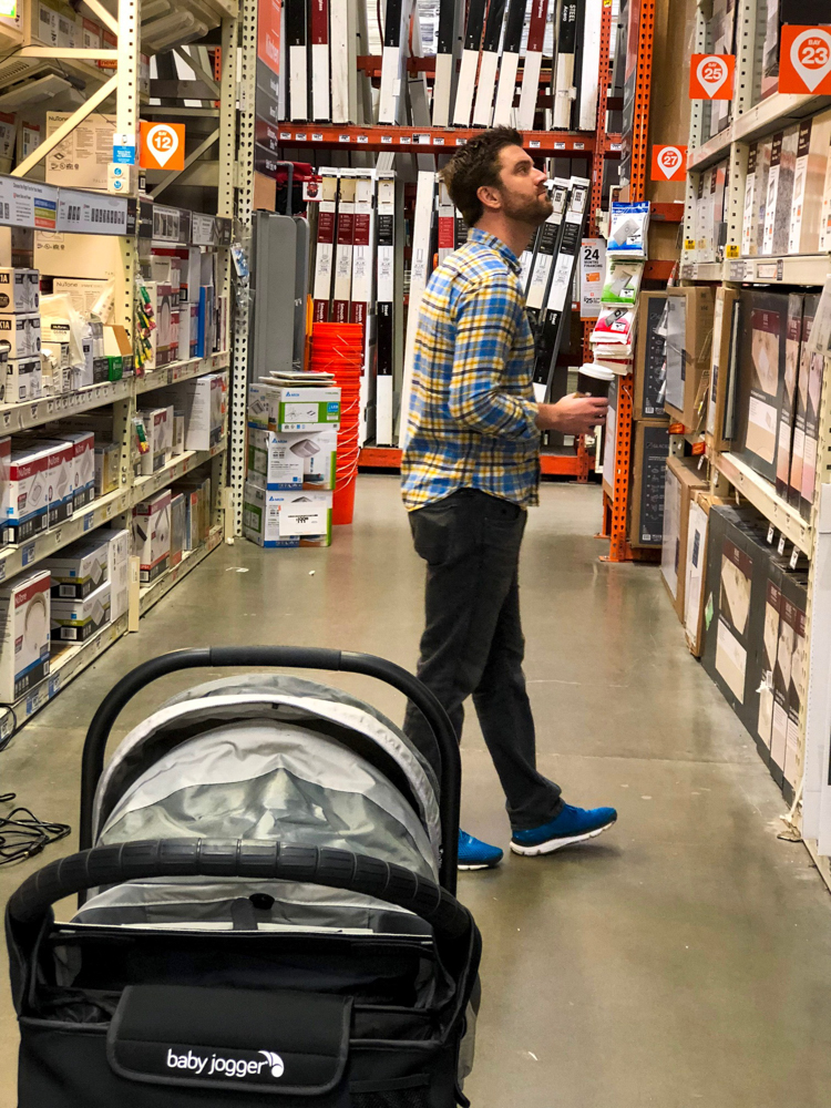 Home Depot visit by A Lady Goes West