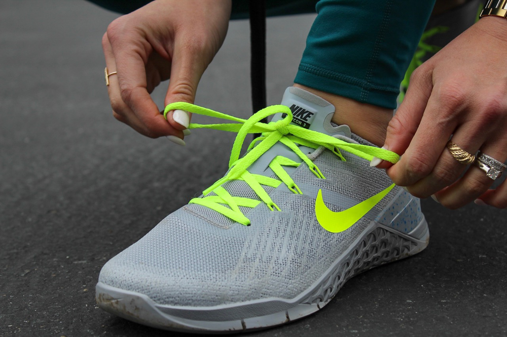 Nike ID shoes - postpartum fitness journey by A Lady Goes West
