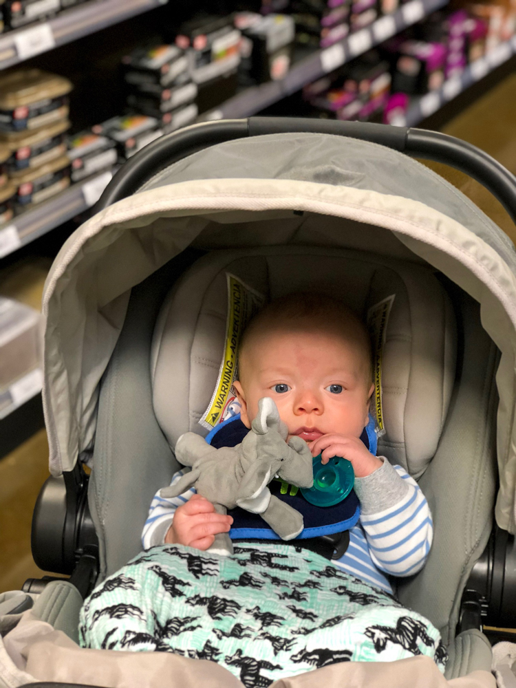 Brady in the hardware store by A Lady Goes West
