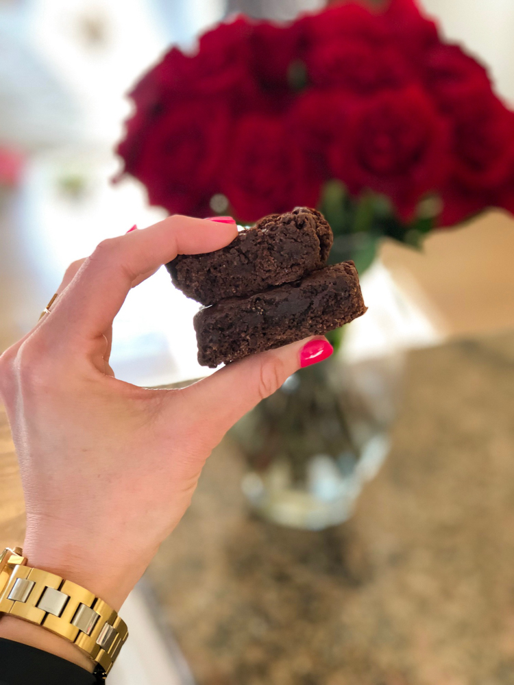 Brownies and roses by A Lady Goes West