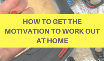 How to get the motivation to work out at home