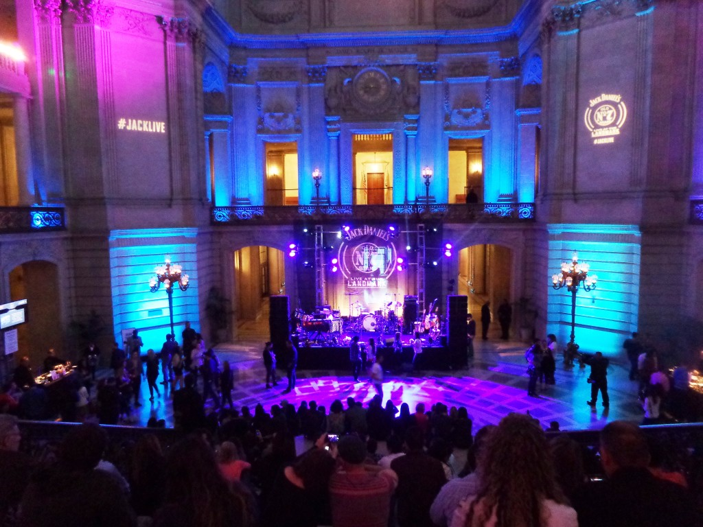 Live at the Landmark concert at City Hall